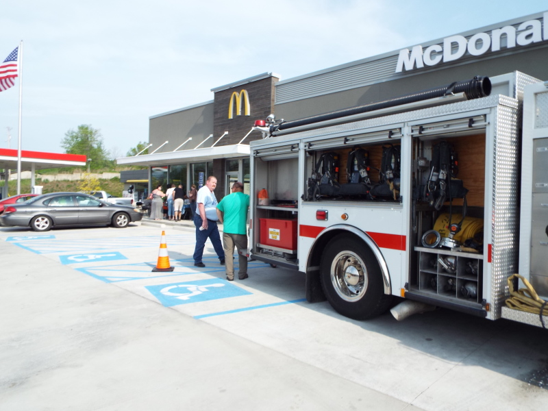 Grand Re-Opening of Dover McDonalds Held Last Week