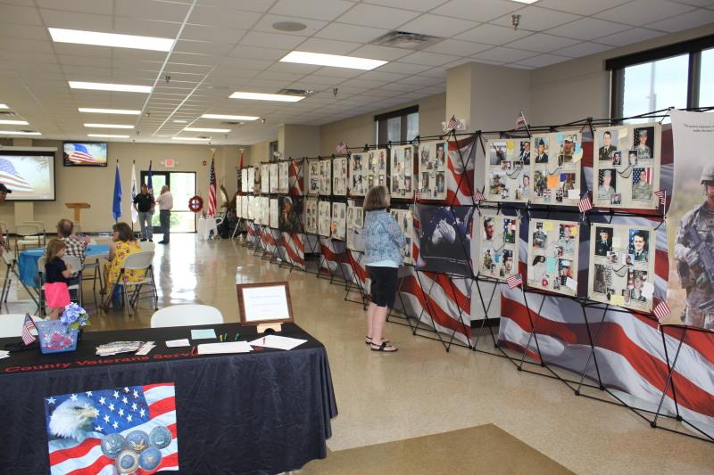 Last Day for Memorial Photo Wall at Visitors Center, Fri. May 31