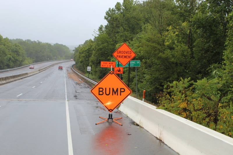 Contractor to Add Wedges to Decrease 'BUMPS' at Bridges