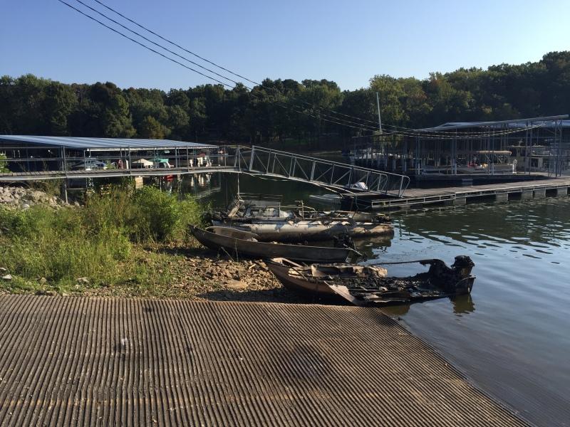 Large Fire at Leatherwood Resort, Owner Burned