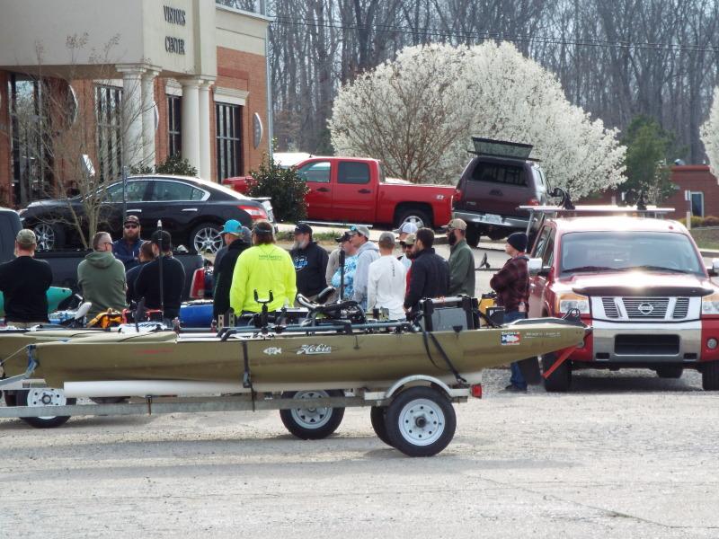 Kayak Bass Fishing Championship This Weekend