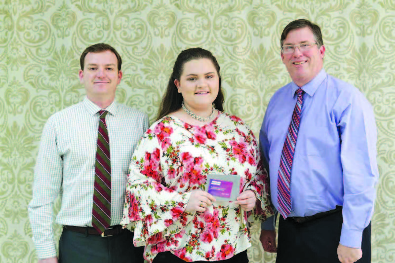 February SCHS Student of the Month