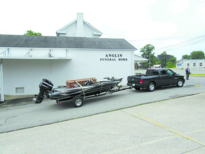 Fisherman's Funeral Includes One Last Boat Ride