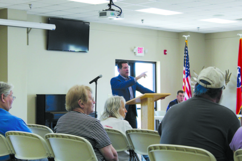 Congressman Mark Green Visits Stewart County for a Town Hall Discussion